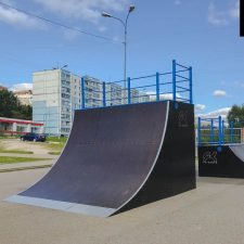 ДеревянныйСкейт парк в Чехове - FK-ramps