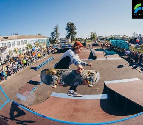 Скейт парк в Первомайске, Нижегородская область - FK-ramps