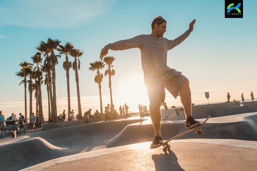 Обзор скейтпарка Venice Beach в Лос-Анжелесе
