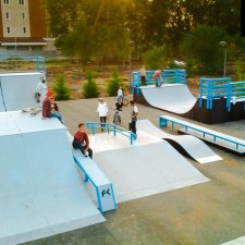 Скейт парк в Астане, Казахстан - FK-ramps