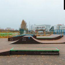 Скейт парк в поселке Восточный, Москва - FK-ramps
