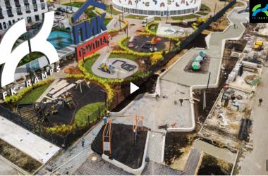 Строительство бетонного скейтпарка в Москве для ГК ПИК