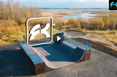 Видео-отчет о монтаже рампы в Сестрорецке