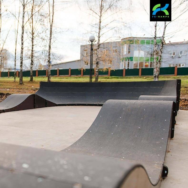 Памп трек (pump track), байк парк, dirt трассы (дерт трассы), bmx и mtb трек - FK-ramps