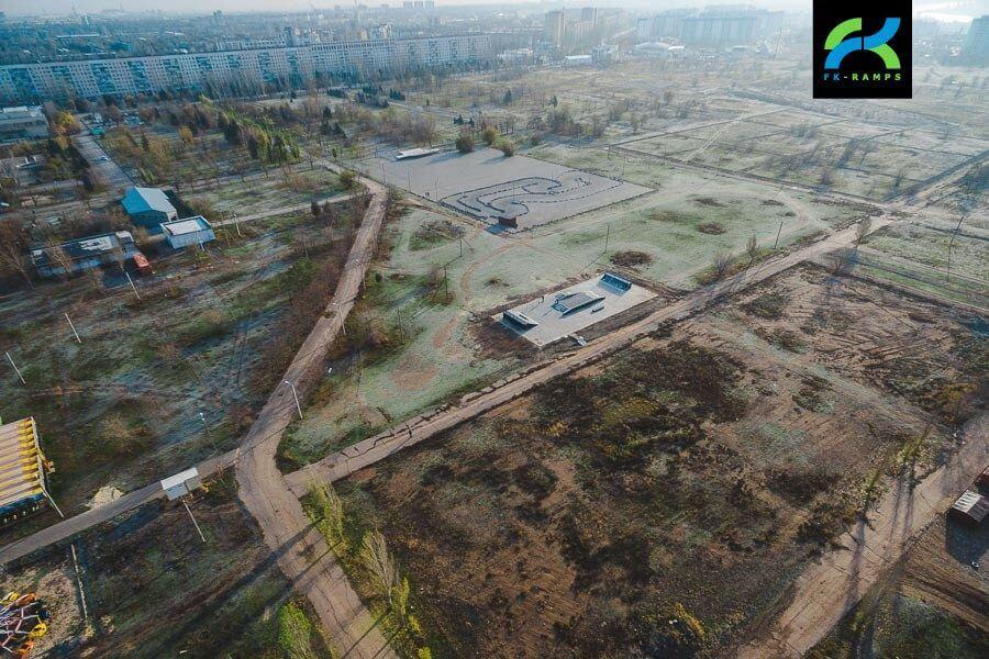 Скейт парк в Волжском, Волгоградская область - FK-ramps