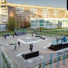 Скейт парк на Планерной улице