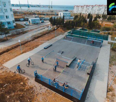 Скейт парк в Севастополе, Крым - FK-ramps