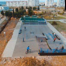 Скейт парк в Севастополе
