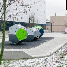 Скейт парк на Варшавском шоссе, Москва - FK-ramps