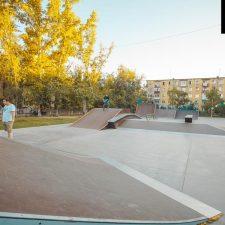 Скейт парк в Усть-Каменогорске