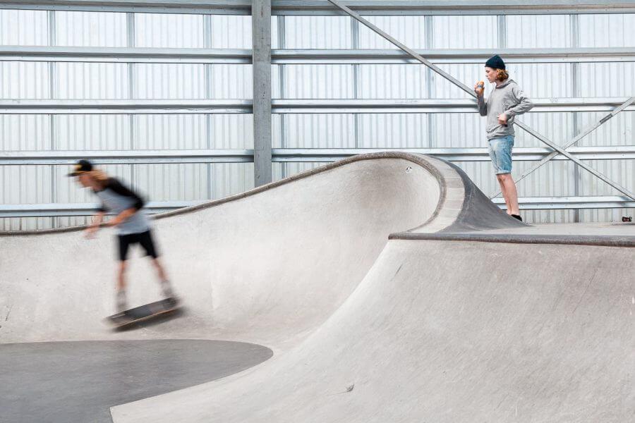 Скейт парк мечты в Дании