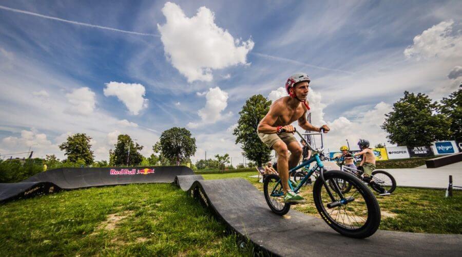 Pump track: инструкция для велосипедистов - FK-ramps