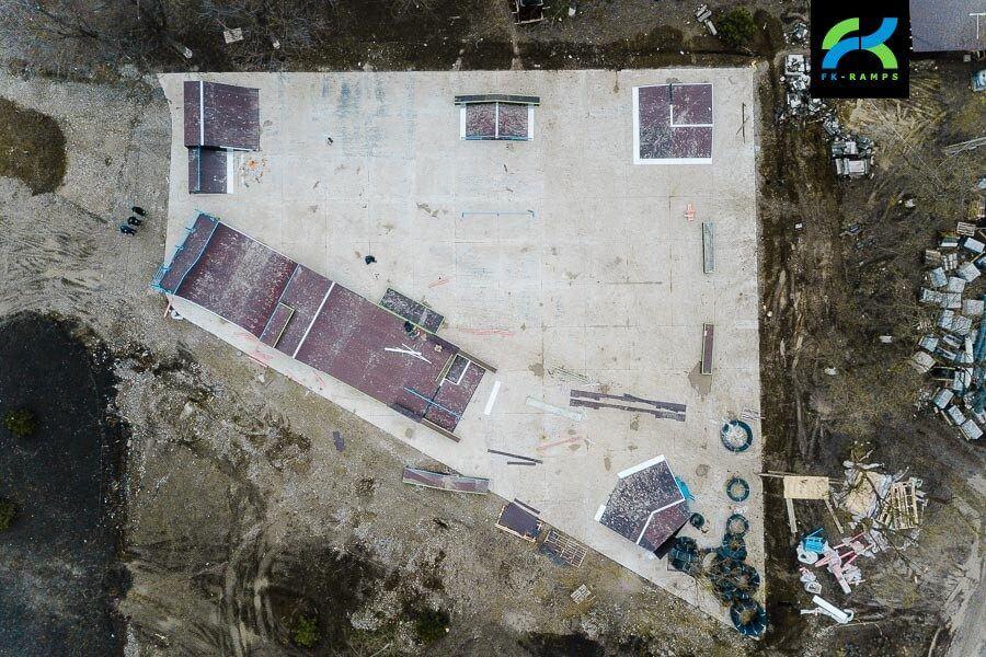 строительство скейтпарков чечня