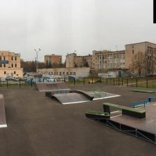 Скейт парк в Железногорске - FK-ramps
