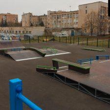 Скейт парк в Железногорске от FK-ramps