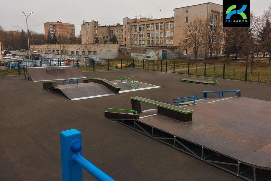 Скейт парк в Железногорске