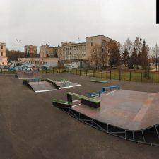 Новый скейт парк в Железногорске - FK-ramps