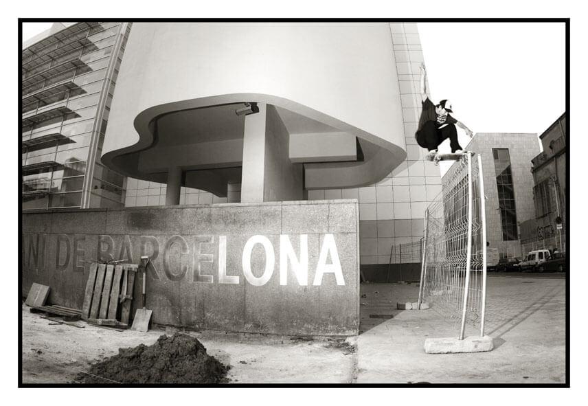 скейтспот в Барселоне