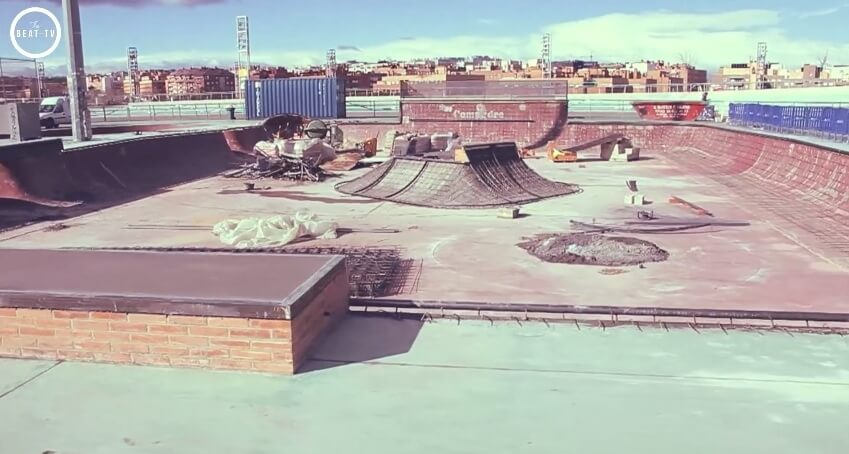 скейт парк Nepal в Мадриде
