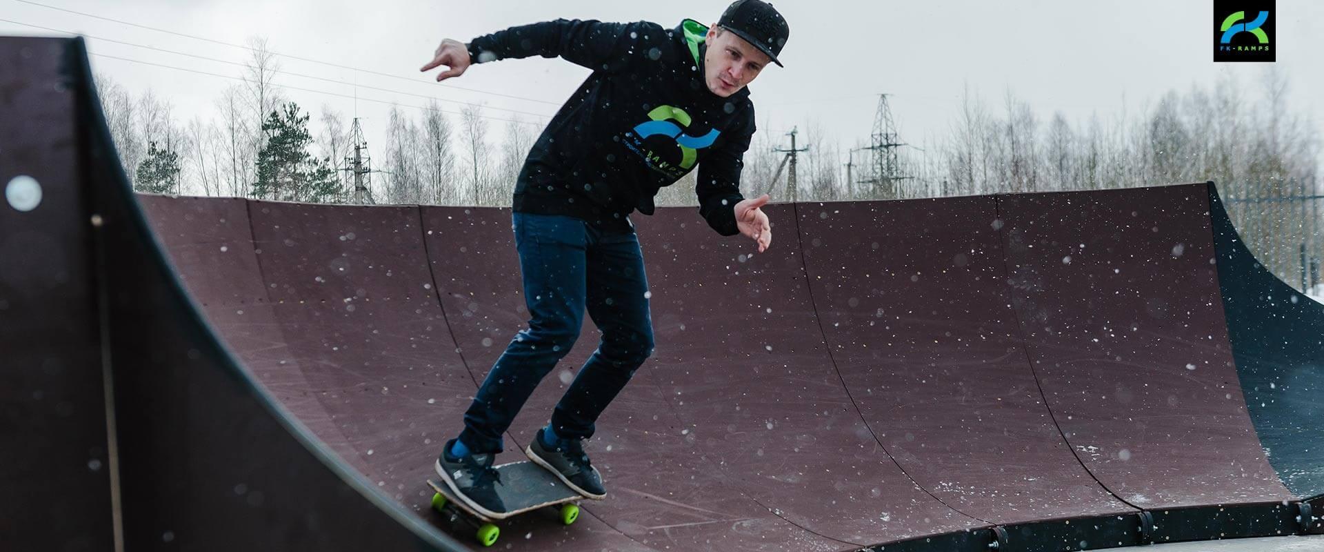 Производим Pump track (памп трек) - FK-ramps