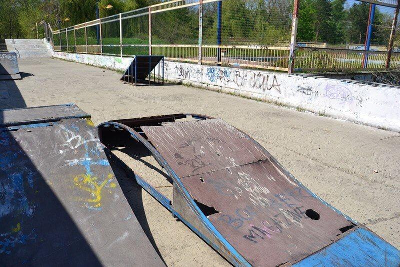 как построить скейтпарк