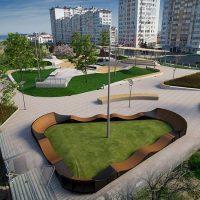 Проекты скейт парков для архитектурных бюро - FK-ramps