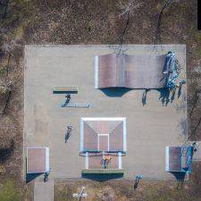 Деревянный скейт парк в Чебоксарах от FK-ramps