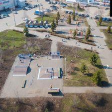 Деревянный скейт парк в Чебоксарах - FK-ramps