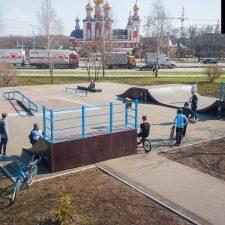 Фото: Скейт парк в Чебоксарах от FK-ramps