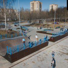 Проект: Скейт парк в Киришах от FK-ramps