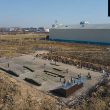 Скейт парк в Великом Новгороде от FK-ramps