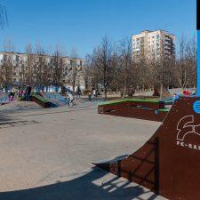 Скейт парк в Киришах, Ленинградская область от FK-ramps