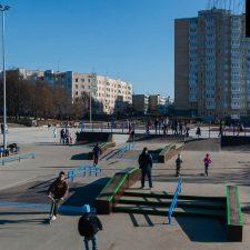 Деревянный скейт парк в Киришах от FK-ramps
