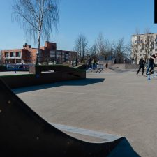 Скейт парк в Киришах - FK-ramps