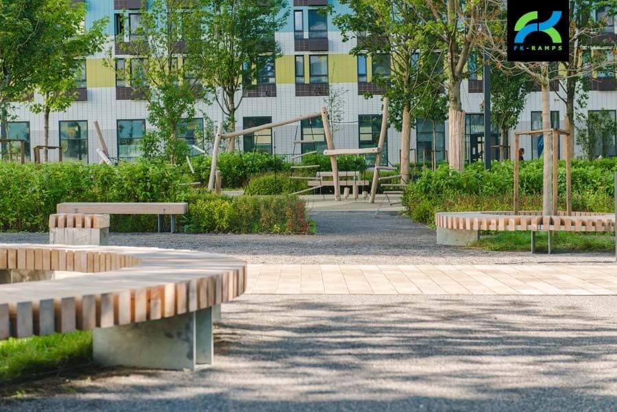 Обустройство скейт парка от FK-ramps