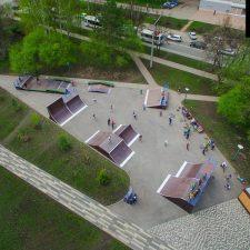 Проект: Cкейт парк в Кемерово - FK-ramps