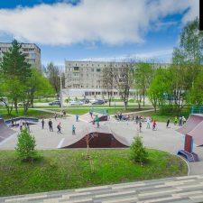 Современный скейт парк в Кемерово - FK-ramps