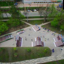 Современный скейт парк в Кемерово от FK-ramps