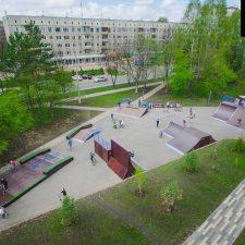 Скейт парк в Кемерово от FK-ramps