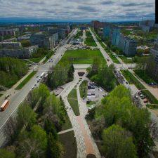 Cкейт парк в Кемерово на бульваре Строителей - FK-ramps