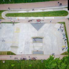 Струковский скейт парк в Самаре - FK-ramps