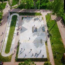 Бетонный скейт парк в Самаре от FK-ramps