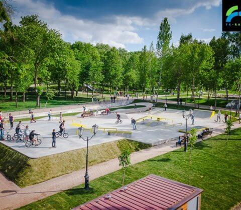 Проект: скейт парк в Самаре от FK-ramps