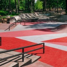 Бетонный скейт парк в Балашихе в парке Пехорка - FK-ramps