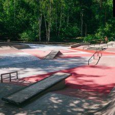 Бетонный скейт парк в Балашихе - FK-ramps