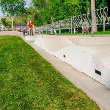 Скейт парк в Самаре в Струковском саду - FK-ramps