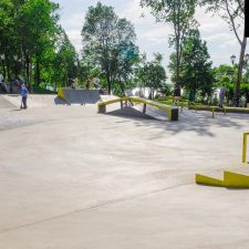 Бетонный скейт парк в Самаре в Струковском саду - FK-ramps