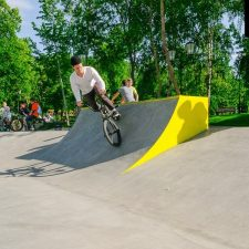 Бетонный скейт парк в Самаре- FK-ramps