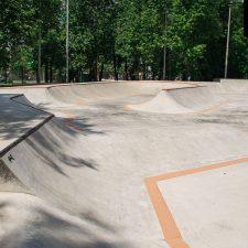 Проект: Скейт парк на Удальцова в Москве от FK-ramps
