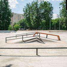 Проект: Скейт парк на Удальцова в Москве - FK-ramps